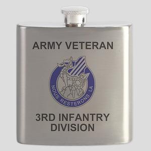 army3rdinfantryveteran Flask