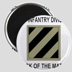 Army3rdInfantryShirt5 Magnet