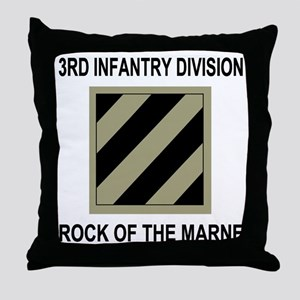 Army3rdInfantryShirt5 Throw Pillow