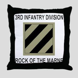 Army3rdInfantryShirt5 Throw Pillow