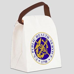 USPHSLogoBonnie Canvas Lunch Bag