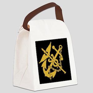 USPHS-BlackCap Canvas Lunch Bag