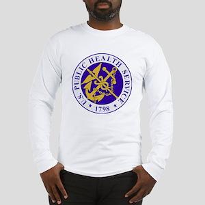 USPHSLogoBlueOuterRing Long Sleeve T-Shirt