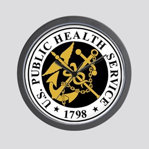 USPHS-BlackJersey Wall Clock