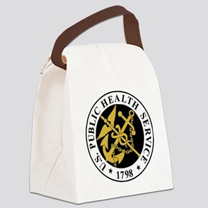 USPHS-BlackJersey Canvas Lunch Bag