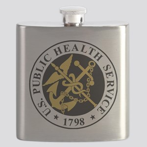 USPHS-BlackJersey Flask