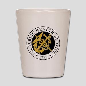 USPHS-BlackJersey Shot Glass