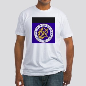 USPHS-GreetingCard Fitted T-Shirt