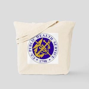USPHSLogoSilver Tote Bag