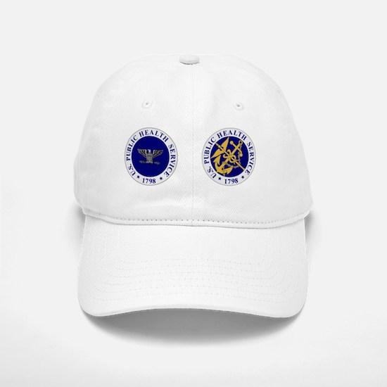 USPHS-CupCapt.gif Baseball Baseball Cap