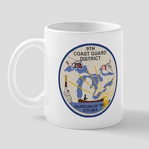 USCGPatchCGD9CoffeeCup2 Mug