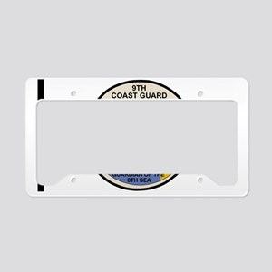 USCGPatchCGD9BlackMesh License Plate Holder