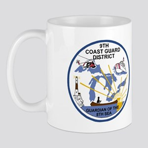 USCGPatchCGD9TravelMug Mug