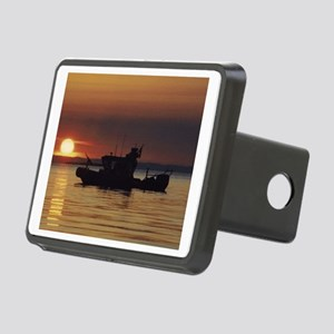 USCGPosterPatrolBoat Rectangular Hitch Cover
