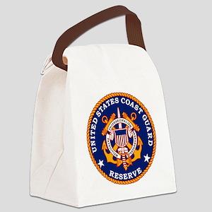 USCGRLogoBonnie Canvas Lunch Bag
