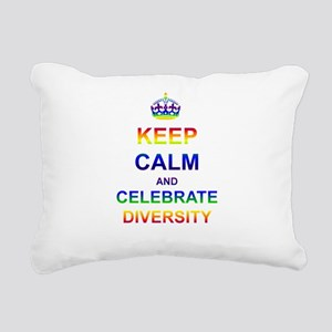 Designs-GLBT001 Rectangular Canvas Pillow