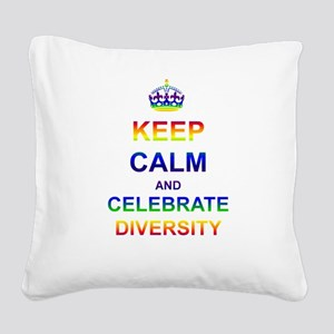 Designs-GLBT001 Square Canvas Pillow