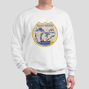 USCGPatchCGD9Bonnie2 Sweatshirt