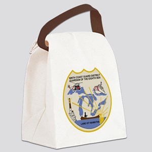 USCGPatchCGD9Bonnie2 Canvas Lunch Bag