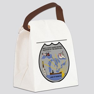 USCGPatchCGD9Bonnie2B Canvas Lunch Bag