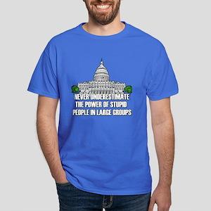 Stupid People In Washington DC Dark T-Shirt