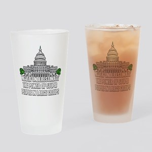 Stupid People In Washington DC Drinking Glass