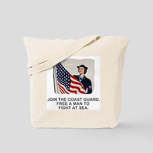 USCG-Free-A-Man Tote Bag