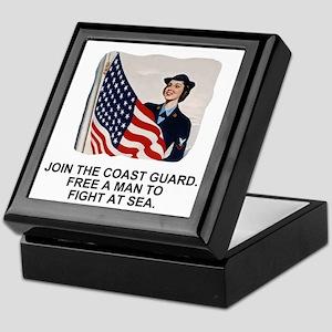 USCG-Free-A-Man Keepsake Box