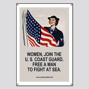 USCG-Poster-Free-A-Man Banner