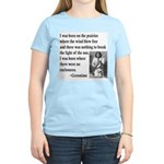 Geronimo Quote Women's Pink T-Shirt