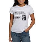 Geronimo Quote Women's T-Shirt