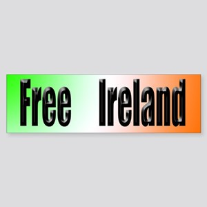 Free Ireland Bumper Sticker