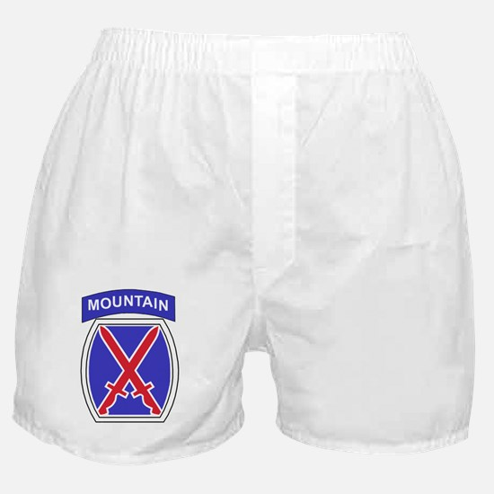 Army-10th-Mountain-Division-Patch-Bon Boxer Shorts