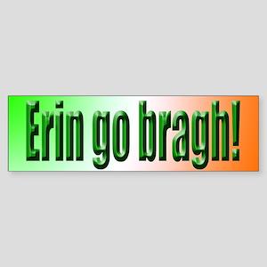 Erin go Bragh Bumper Sticker