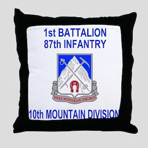 Army-87th-Infantry-Reg-Shirt-1 Throw Pillow