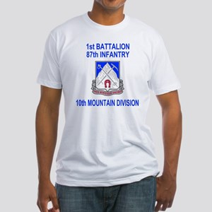 Army-87th-Infantry-Reg-Shirt-1 Fitted T-Shirt