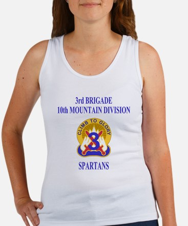 Army-10th-Mountain-Div-3rd-Brigad Women's Tank Top