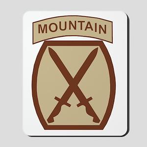 Army-10th-Mountain-Div-Desert Mousepad