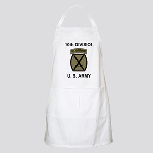 Army-10th-Mountain-Div-Woodland-Shirt Apron