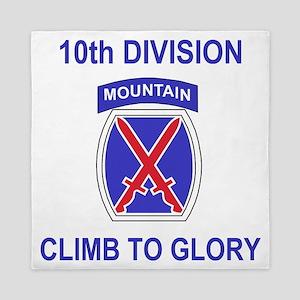 Army-10th-Mountain-Division-Shirt-3.gi Queen Duvet
