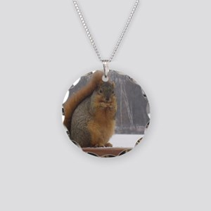 I'm NUTS about you! Necklace Circle Charm