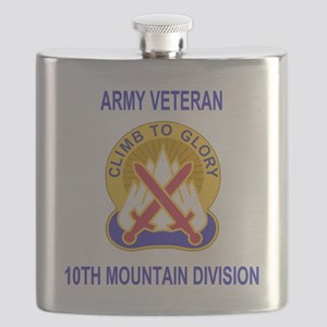 Army-10th-Mountain-Div-Veteran-Shirt Flask