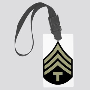 Army-WWII-Tech-4th-Class-Dennis. Large Luggage Tag