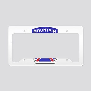 Army-10th-Mountain-Div-WWII-C License Plate Holder