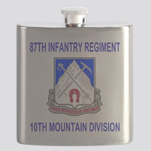 Army-87th-Infantry-Reg-Shirt Flask
