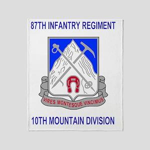 Army-87th-Infantry-Reg-Mousepad Throw Blanket