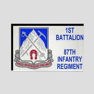 Army-87th-Infantry-Reg-Sticker-1s Rectangle Magnet