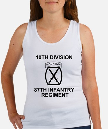 Army-87th-Infantry-Reg-Shirt-Colo Women's Tank Top