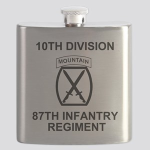 Army-87th-Infantry-Reg-Shirt-Colors Flask