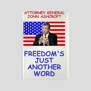 Bush-Ashcroft-Freedom-Poster Rectangle Magnet